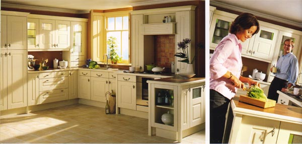 Avanti Shaker Style Kitchen Cabinets Ideas Cream Kitchens Uk Sarkem